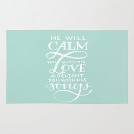 CALM you with LOVE Rug