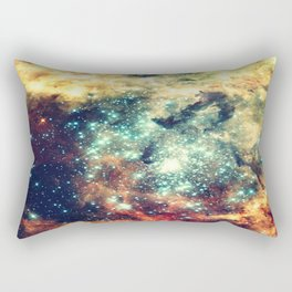 galaxy nebula stars Rectangular Pillow