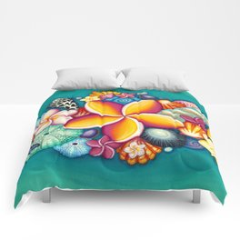 Colors of Hawaii Comforters