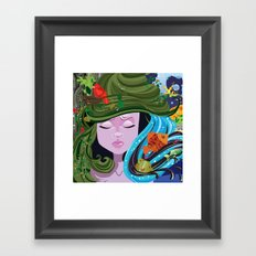 Bad Hair Day  Framed Art Print
