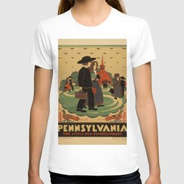 Vintage poster - Pennsylvania T-shirt