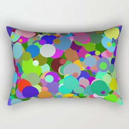 Circles #9  - 03142017 Rectangular Pillow