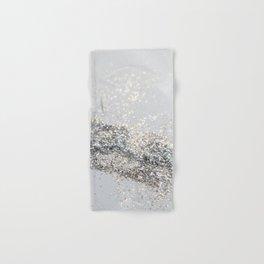Silver Gray Glitter #2 #shiny #decor #art #society6 Hand & Bath Towel
