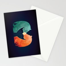 A Tail of Two Horses Stationery Cards