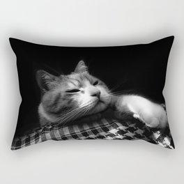 Thats My Cat 04 !! Just Bored Rectangular Pillow
