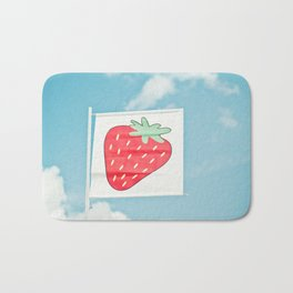 Strawberry Sky Bath Mat