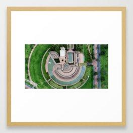 Biblioteca Virgilio Barco Framed Art Print