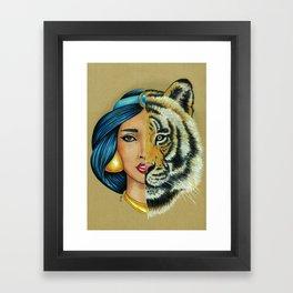 Jasmine & Rajah Framed Art Print