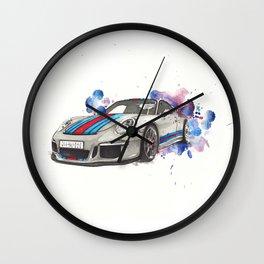 GT3 martini Wall Clock