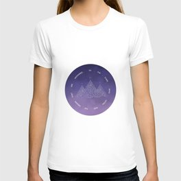 To The Stars Who Listen And The Dreams That Are Answered T-shirt