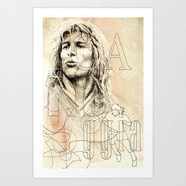 Claudio Caniggia Art Print