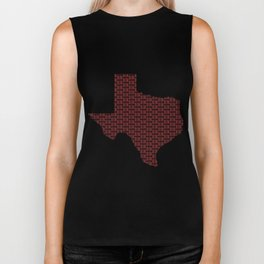 VOTE Texas! (Red) Biker Tank