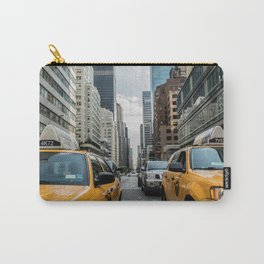 Iconic New York City Yellow Taxi Cabs Carry-All Pouch