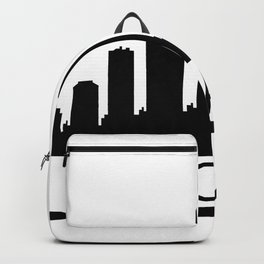 chicago skyline Backpack