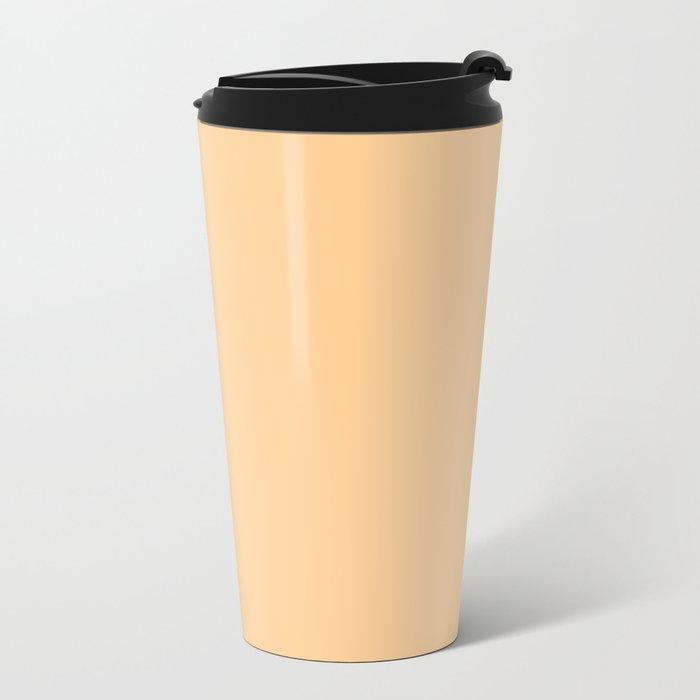 Simply Orange Sherbet Metal Travel Mug