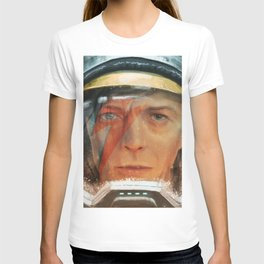 Bowie - The Man Who Fell to Earth T-shirt