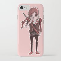 daryl iPhone & iPod Cases featuring Daryl Dixon by Scott Ulliman