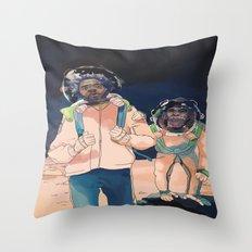 TO INFINITY Throw Pillow