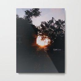 Golden Hour Metal Print