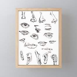 Features Framed Mini Art Print