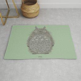Green Totoro Rug