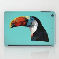 toucan iPad Cases featuring Toucan by Sally Taylor