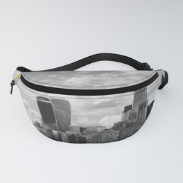 London Skyline on the River Thames Fanny Pack
