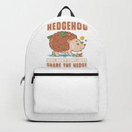 Hedgehog Hedge Backpack