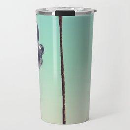 Hollywood Travel poster Travel Mug