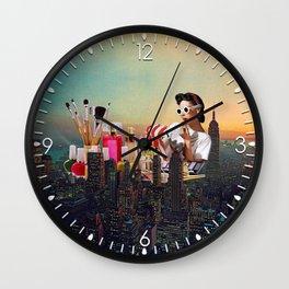 Urban Camouflage Wall Clock