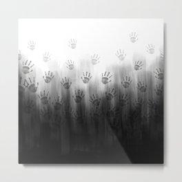 Terror Black Hands Metal Print