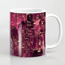 Red neon city Coffee Mug