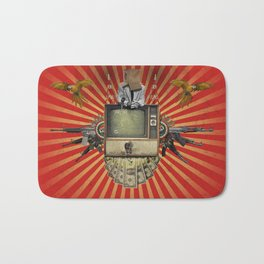 The Revolution Will Not Be Televised! Bath Mat