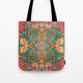Pretty Boujee Boho Mandala Tote Bag