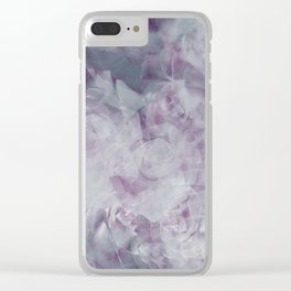 A Floral Bouquet of Clouds Clear iPhone Case