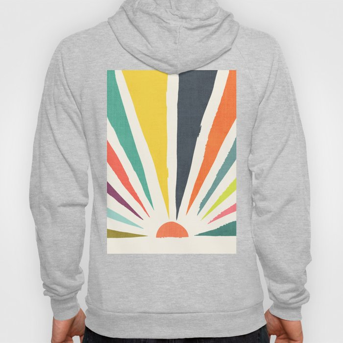 Rainbow ray Hoody