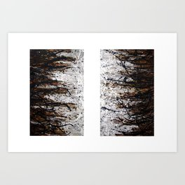 A Thing or Two (Diptych) Art Print