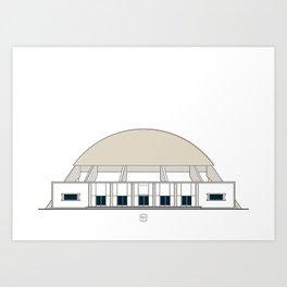 Planetario Humboldt Art Print