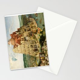 The Tower of Babel 1563 Stationery Cards