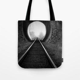 Train Track Tote Bag