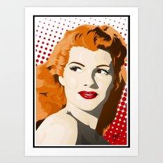 Gilda Art Print