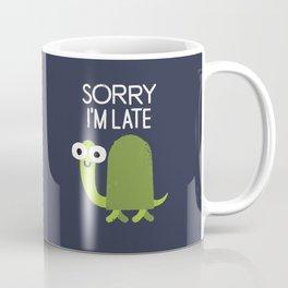 Tardy Animal Coffee Mug