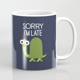 Tardy Animal Coffee Mug