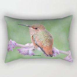 DO NOT Raid My Patch of Sage Rectangular Pillow