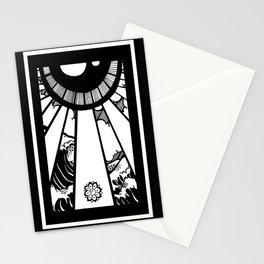EL MAR LAS NUVES Y UN OJO Stationery Cards
