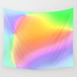 Bright Prismatic Rainbow Design! Wall Tapestry