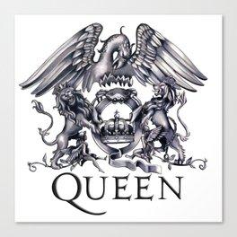 Queen Band logo Canvas Print