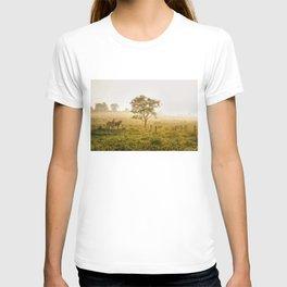 Two Horses at Sunrise T-shirt