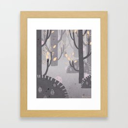 We're Not Sure About You Framed Art Print