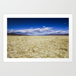 Trona Desert Landscape California Art Print